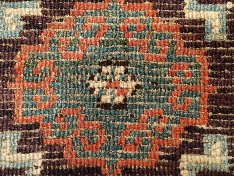 Antique Tibetan Meditation Rug 7