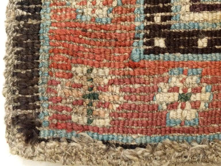 Antique Tibetan Meditation Rug 8