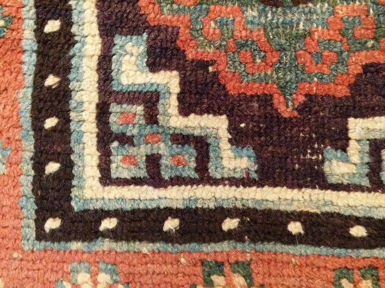 Antique Tibetan Meditation Rug In Good Condition In Milan, IT