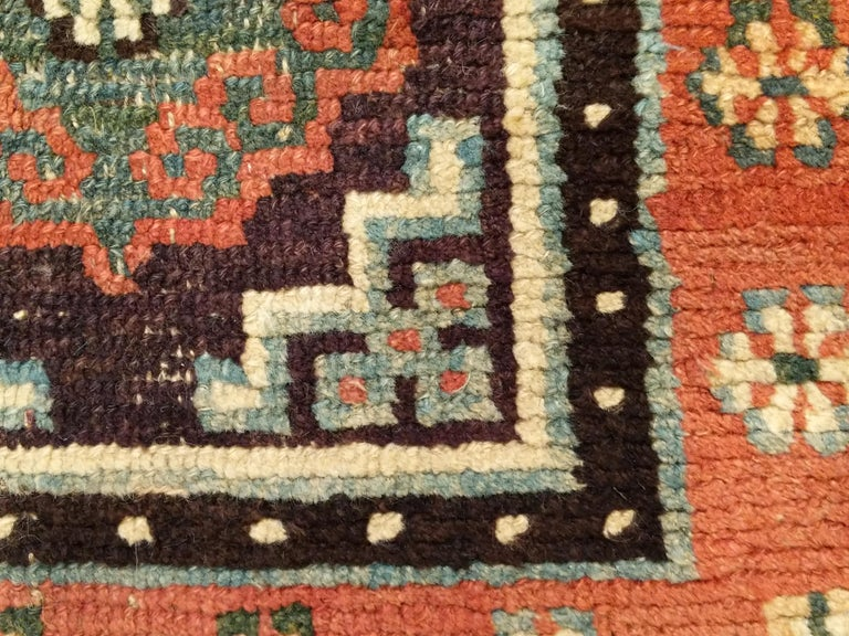 Mid-19th Century Antique Tibetan Meditation Rug