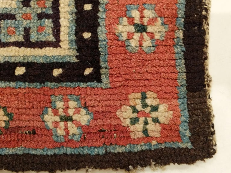 Wool Antique Tibetan Meditation Rug