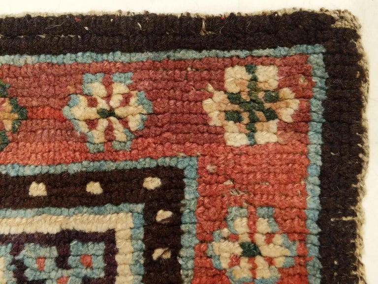 Antique Tibetan Meditation Rug 2