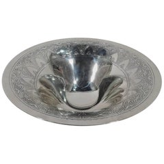 Antique Tiffany Art Deco Sterling Silver Centrepiece Bowl