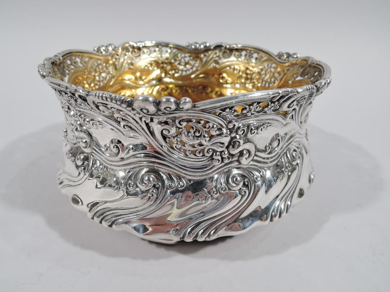 Victorian Antique Tiffany Bowl on Plate from Chicago Columbian Exposition For Sale