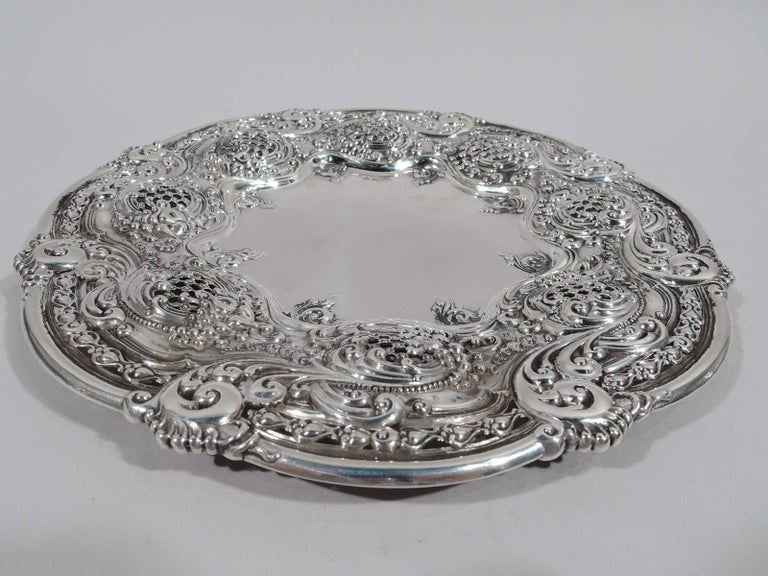 Antique Tiffany Bowl on Plate from Chicago Columbian Exposition In Excellent Condition For Sale In New York, NY