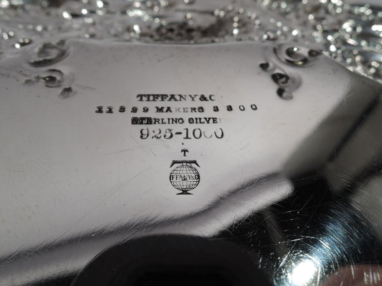 Sterling Silver Antique Tiffany Bowl on Plate from Chicago Columbian Exposition For Sale