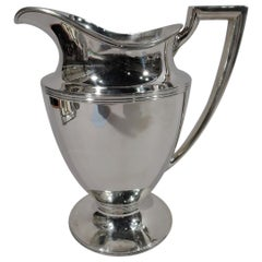 Antique Tiffany & Co. Classic Sterling Silver Water Pitcher
