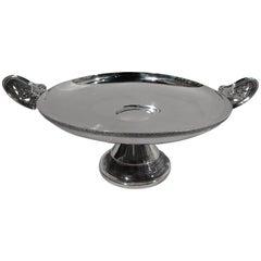 Antique Tiffany Classical Japonesque Kylix Centerpiece Bowl