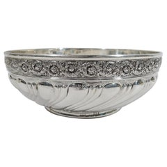 Antique Tiffany Victorian Classical Sterling Silver Bowl
