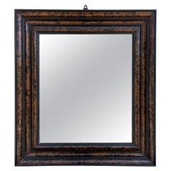 Antique Tortoise Shell Mirror
