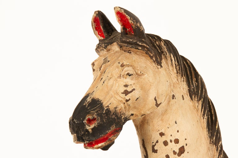 Antique Toy Horse, 1880s For Sale 3
