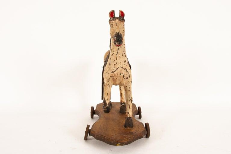 Scandinavian Antique Toy Horse, 1880s For Sale