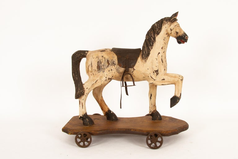 19th Century Antique Toy Horse, 1880s For Sale
