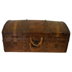 Antique Travel Dome Trunk