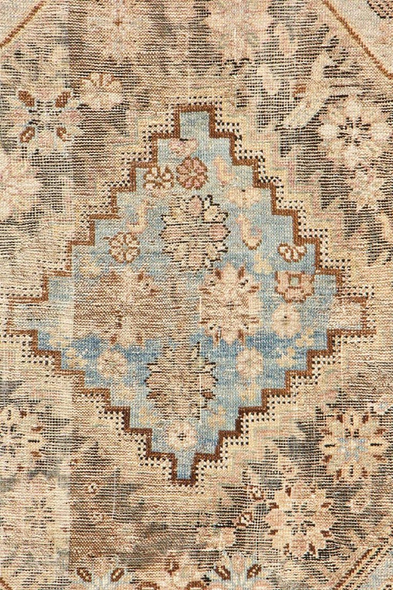 Azerbaijani Antique Tribal Caucasian Kuba Rug For Sale