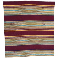 Antique Tribal Moroccan Woven Cover