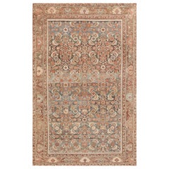 """Antique Tribal Persian Malayer Rug. Size: 6' 6"""" x 10' 3"""" (1.98 m x 3.12 m)"""