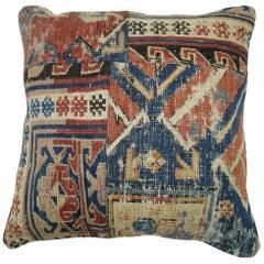 Antique Tribal Soumac Pillow