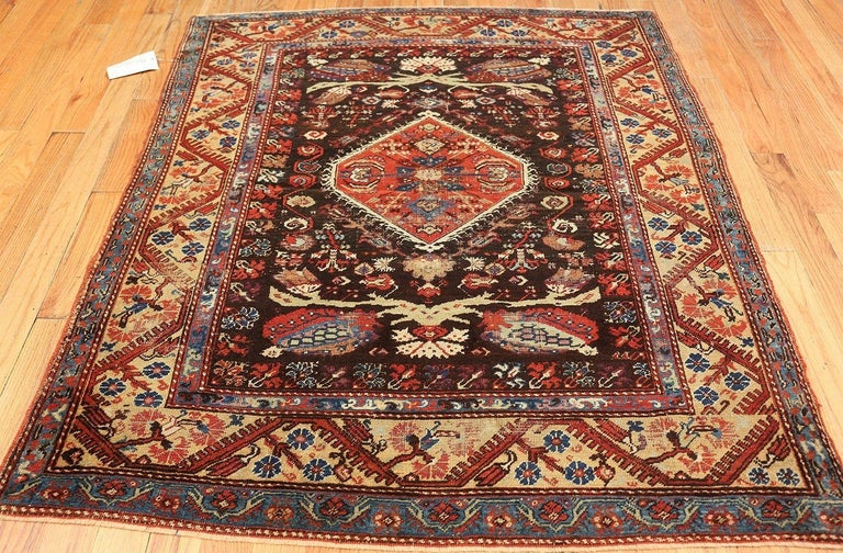 Hand-Knotted Antique Tribal Turkish Kula Rug For Sale