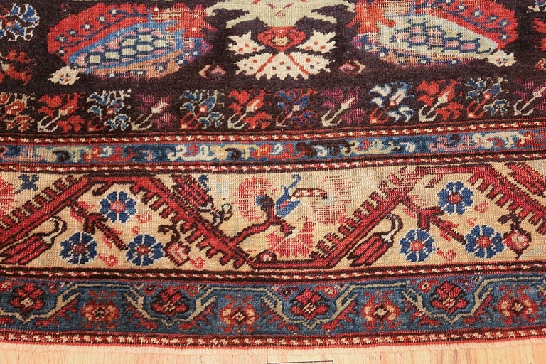 18th Century Antique Tribal Turkish Kula Rug For Sale