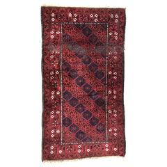 Antique Tribal Turkmen Baluch Afghan Rug
