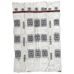 Antique Tribal Woven Kilim Rug from Mali