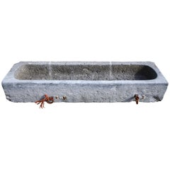 Antique Trough of Belgian Bluestone