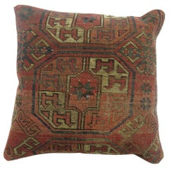 Antique Turkeman Rug Pillow