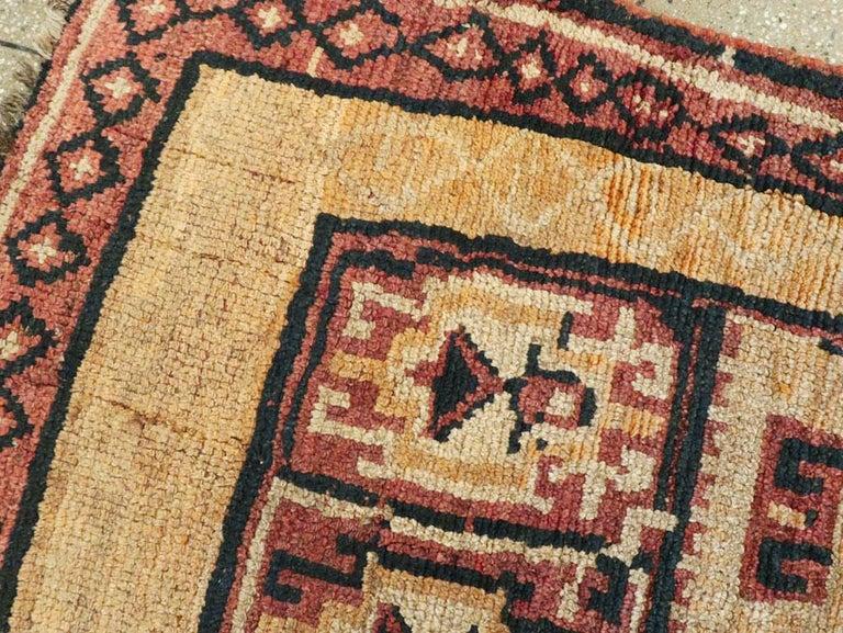 20th Century Antique Turkish Anatolian Tribal Rug For Sale