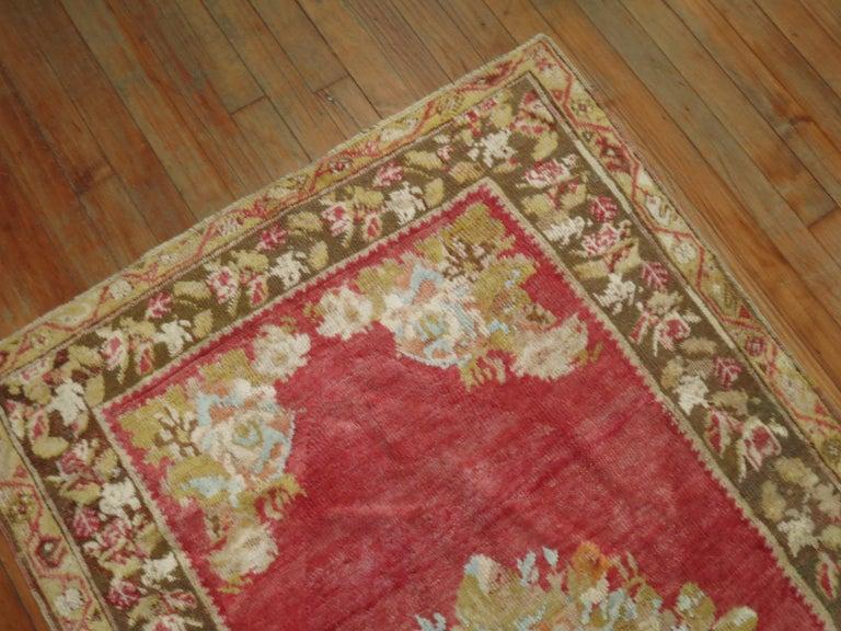 Antique Turkish Ghiordes Rug For Sale 1