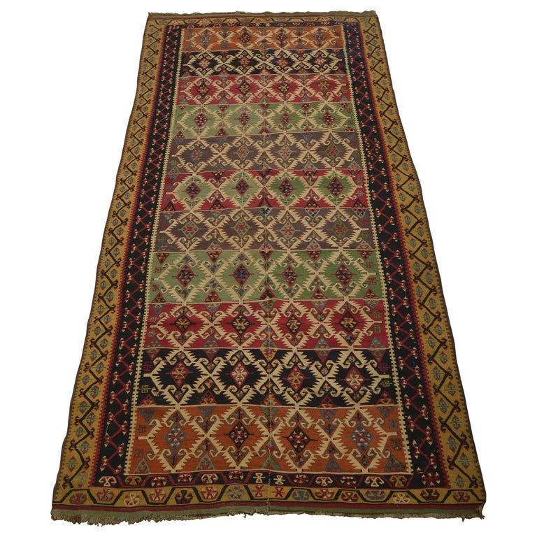 Antique Turkish Kilim For Sale