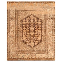 Antique Turkish Kula Rug. Size: 4 ft 5 in x 5 ft 6 in (1.35 m x 1.68 m)