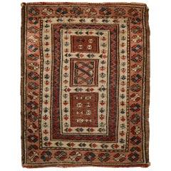 Antique Turkish Milas Rug