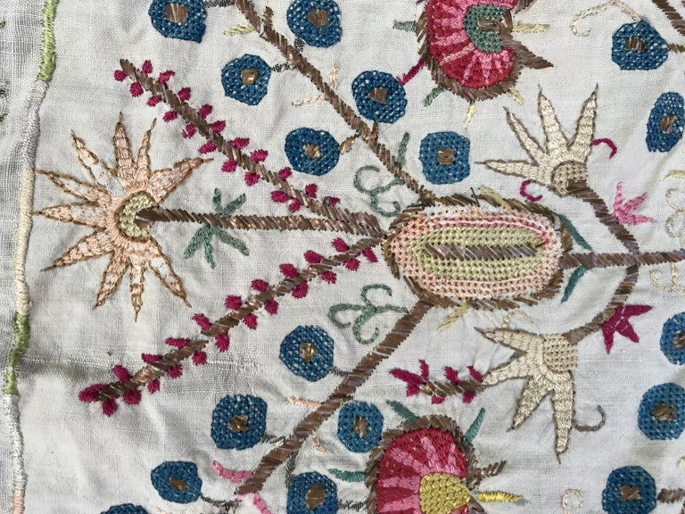 Antique Turkish Ottoman Embroidery For Sale 5