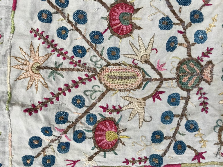 Islamic Antique Turkish Ottoman Embroidery For Sale