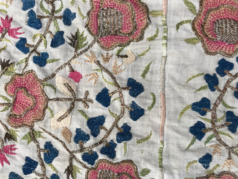 Antique Turkish Ottoman Embroidery For Sale 1