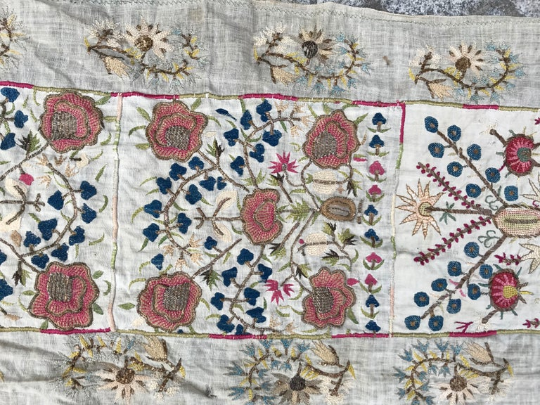 Antique Turkish Ottoman Embroidery For Sale 2