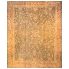 Antiker Türkischer Oushak Teppich