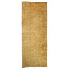 Antique Turkish Oushak Palace Rug with Rustic Mediterranean Style