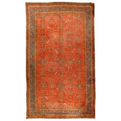 Antique Turkish Oushak Rug, circa 1890