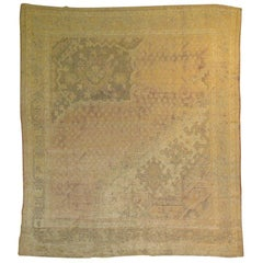 Antique Turkish Oushak Sampler
