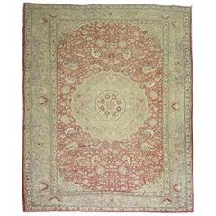 Antique Turkish Pictorial Rug