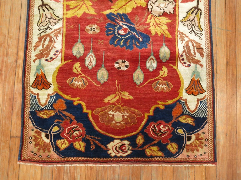 American Classical Antique Turkish Rug For Sale