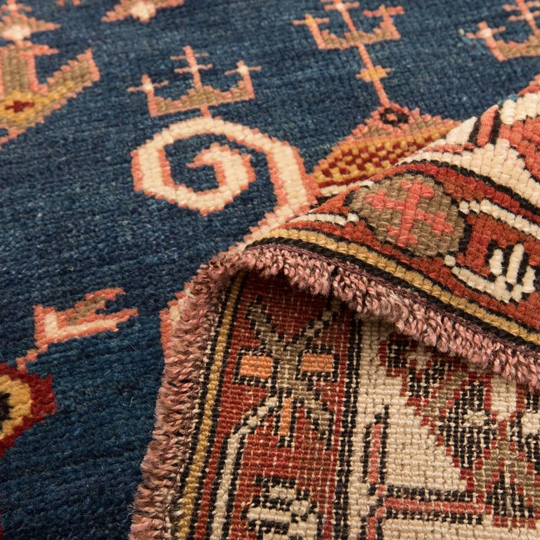 20th Century Antique Wool Rug, Derbend with Double Niche Design, circa 1920 For Sale 1