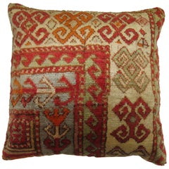 Antique Turkish Rug Pillow