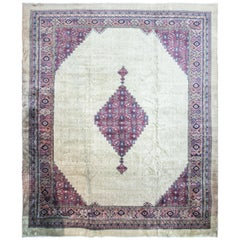 Antique Turkish Serab Carpet