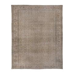 Antique Turkish Sivas Carpet, All-Over Design