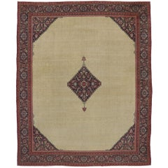 Antique Turkish Sivas Palace Rug with Traditional Style