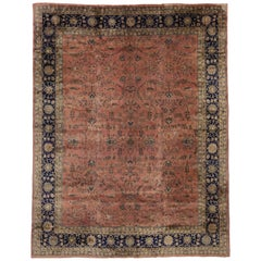 Antique Turkish Sparta Gallery Rug with Traditional Style