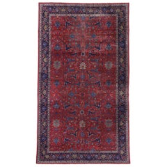 Antique Turkish Sparta Palace Size Rug with Luxe Victorian Baroque Style